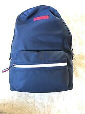 Tommy Hilfiger Navy Nylon School Travel Bag Laptop Sleeve Backpack