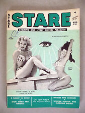 Stare Magazine - August, 1955 -- Bettie Page cover & 9 pages
