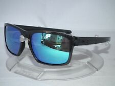 CUSTOM OAKLEY SLIVER SUNGLASSES OO9262 Metallic Black / Sapphire Iridium