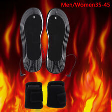 Battery Heated Shoe Insoles Forefoot Warmer Electric Heater Boot Socks