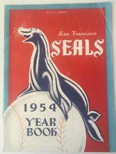 1954 San Francisco Seals Baseball Yearbook PCL