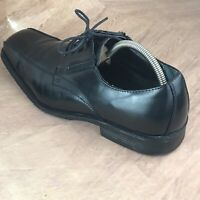 ALFANI Mens Dress Shoes - Proud Bike Toe Leather Black Oxfords Lace-up Sz 11.5 M