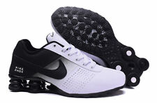 Men's Size 7 BRAND NEW Nike Shox Deliver White Black Running Shoes