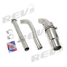 2.75″ Single Exit Catback Exhaust Kit Stainless Steel Fits  S2000 00-09 AP1/AP2
