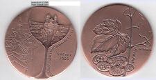 Speyer 35. südd. Münzsammlertreffen 2000 Wein Vinum in nummis AE-Medaille