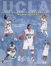 2002-03 UCLA Bruins NCAA Basketball Media Guide