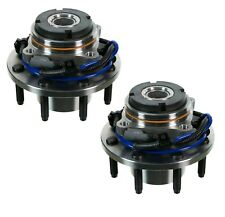 Pair Set of 2 Front Moog Wheel Bearing Hub Kit for F-250 F-350 SD 4WD 4Wheel ABS