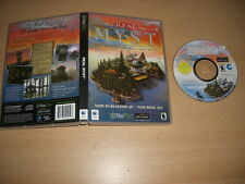 Real Myst-MYST 1 in (environ 2.54 cm) Realtime 3D Apple MAC Macintosh Presque comme neuf-Rapide Post