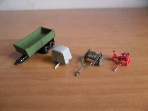 Konvolut Anhänger Kutschenteile Auto PKW Fahrzeug 1:160 Spur N 16
