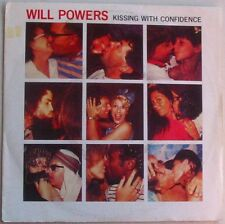 WILL POWERS  (SP 45 Tours)   KISSING WITH CONFIDENCE