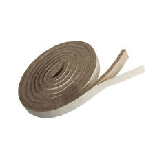 """Heavy Duty Felt Stripping With Adhesive - 58"""" X 1/2"""" X 3/16""""  - 4 Pcs Value Pack"""
