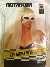 NEW Official Licensed Rubies Lady Gaga straight blonde wig Halloween Costume