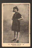 ARTISTE CHANTEUSE REALISTE / Mlle MIMI-TEN en 1904