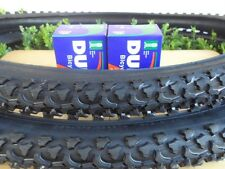 "26 x 1.95 Bicycle Tires + Tubes Mountain Bike 26"" NEW 26x1.95"