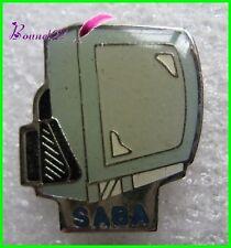 Pin's Ancienne Télévision TV SABA #596