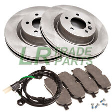 LAND ROVER DISCOVERY 3 TDV6 & V8 NEW FRONT BRAKE DISCS, PADS & SENSOR KIT, SET