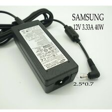 Genuine 12V 3.33A 40W Charger AC Adapter For Samsung Tablet XE700T1C XE500T1C