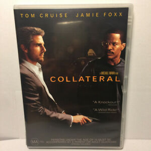 Collateral  (DVD, 2004) Region 4 PAL