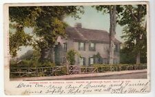 [52865] 1906 POSTCARD REYNOLDS PLACE (OLDEST HOUSE) in NORWICH, CONNECTICUT