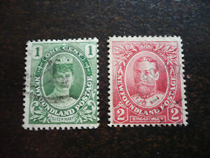 Stamps - Newfoundland - Scott# 104-105