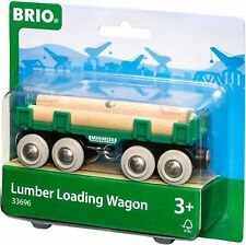 Brio World Lumber Loading Wagon 3+ #33696 4-Pc Toy New In Package