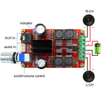 TPA3116D2 Dual 50W Channel Stereo Digital Amplifier Board DC 5-24V g.
