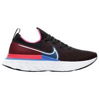 New Nike React Infinity Run FK in Black/White-Red Orbit Colour Size 9.5