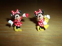 VGC Tiny Disney Minnie Mouse Figures 2 Poses - Polly Pocket?