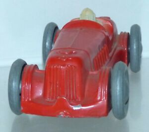 RD16 Early English diecast - Castle Art Gaiety Toy single driver racer. VGC