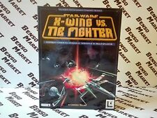 STAR WARS X-WING VS TIE FIGHTER PC BIG BOX EDIZIONE ITALIANA COMPLETO COME NUOVO