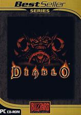 @ Diablo 1 - PC Spiel in Original DVD Hülle  - Neuwertig !