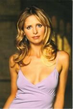 Buffy the Vampire Slayer 4 x 6 Photo Postcard Buffy in Lavender #12 New Unused