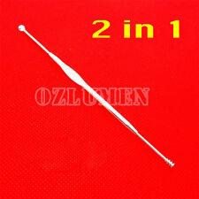 Stainless Steel Ear Pick Curette Wax Cleaner Removal Earpick Health Stick Tool
