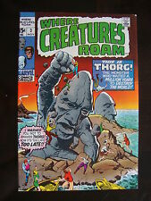 Where Creatures Roam #3 F+ Thorg Destroy The World