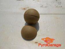 "10 x 2"" Paper Ball Shell Kugelhülsen Hemis Hemispheres Casings Aerial Shell"