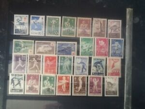 FINLAND RED CROSS LOT MINT (MH/OG) STAMPS