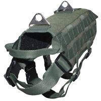 Service Dog Vest Harness Tactical Police K9 Military Army Training Dog Vest