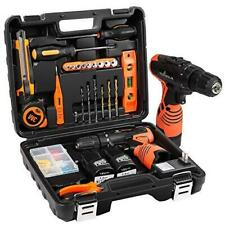 LETTON Power Tools Combo Kit with 16.8V Cordless Power Drill Set and 24pcs Hand
