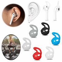 3 Pairs Silicone Eartips in-ear Headset Case Cover Ear Hook For Apple AirPods