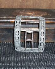 New listing Single French And Indian War Shoe Buckle