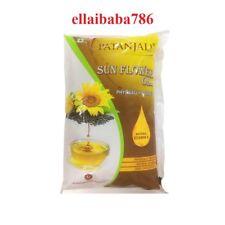 Patanjali Sunflower Oil Physically Refined -  1 Litre - In Plastic Bottle