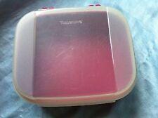 Tupperware Box Aufbewahrungsbox Transportbox Naschkatze Naschkätzchen A 02 rot