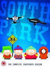 South Park Staffel 18 DVD Neue & versiegelten (rückverfolgbare Lieferung)