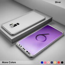 Hybrid 360° Hard Case+Tempered Glass Full Cover For Samsung Galaxy S9 S8 J3 A8