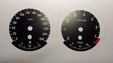 BMW E70 X5 E71 X6 E63 6 E90 3 speedo kilometer cluster gauges EURO