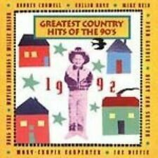 Greatest Country Hits of the '90s, 1992 Rodney Crowell, Collin Raye, Doug.. [CD]