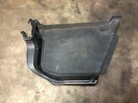 AUDI A3 8P RIGHT SIDE BOOT TRUNK CARPET PLASTIC COVER 8P3863880R