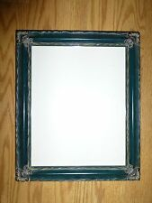 10 x 12 Green and Green Floral Photo Frames (Lot of 2)