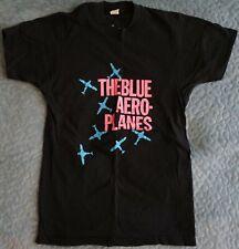 Vintage 1990 Tour The Blue Aeroplanes Wild Blue Wonder Men's L T-Shirt 2-Sided