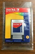 Brand New SanDisk SDAD-38-A10 CF to PC Card Adapter - FREE & FAST SHIPPING